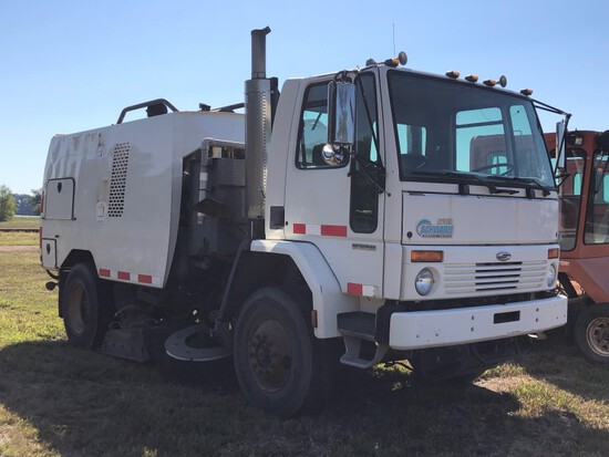 Sweepers and Paver Equipment