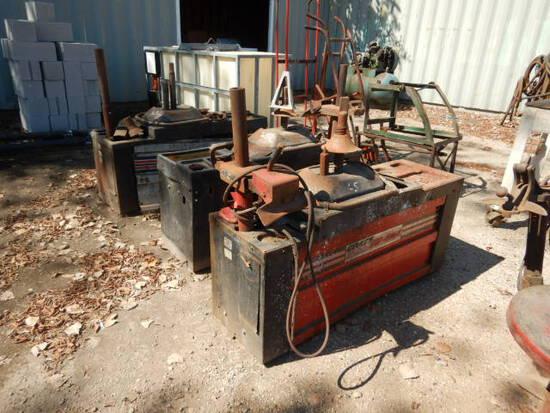 (3) COATS 440 TIRE MACHINES