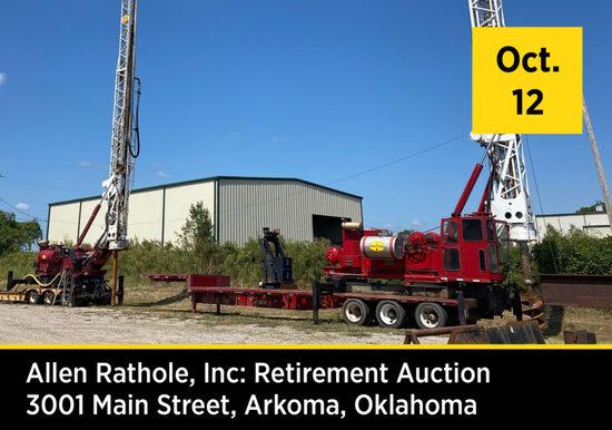 Allen Rathole, INC. Retirement Auction