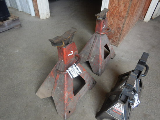 (2) 5 TON JACK STANDS