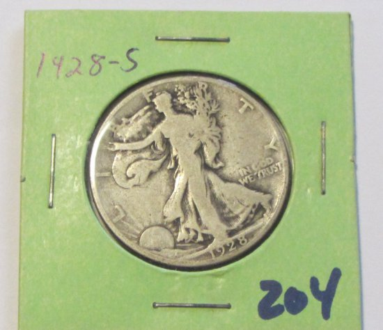 1928-S WALKING LIBERTY HALF