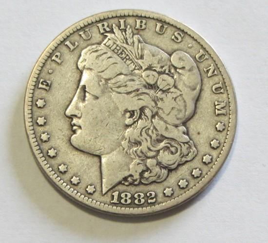 $1 1882-CC CARSON CITY MORGAN ACTUALLY TOUGHER IN CIRCULATED GRADE