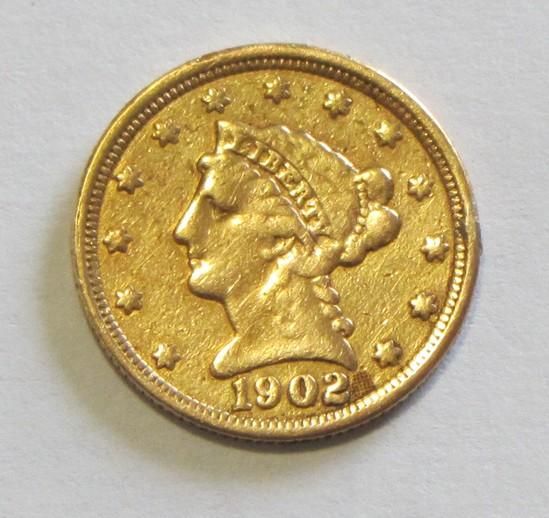 $2.5 GOLD QUARTER LIBERTY EAGLE