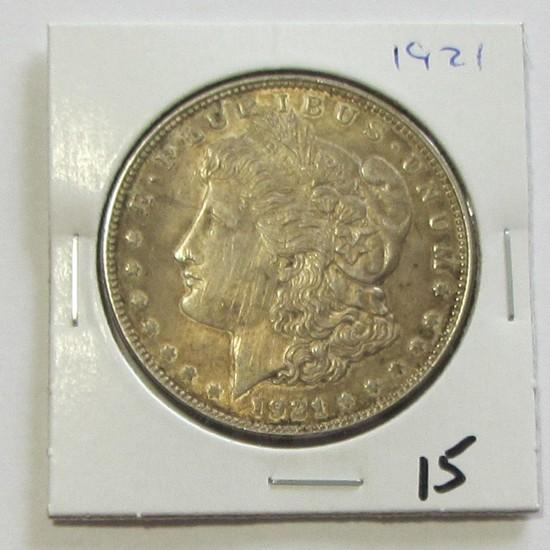 $1 1921 MORGAN SILVER DOLLAR