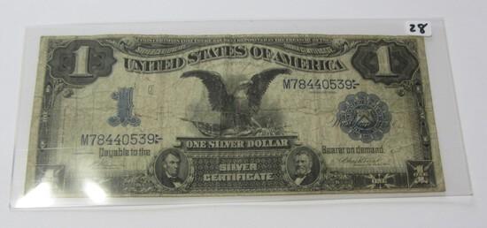 $1 1899 BLACK EAGLE SILVER CERTIFICATE