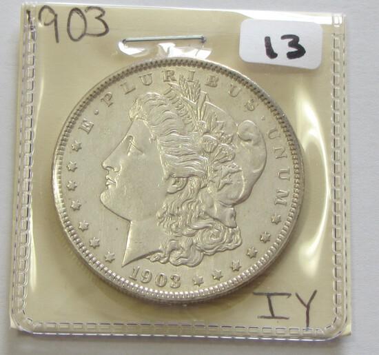 $1 1903 MORGAN SILVER DOLLAR