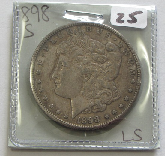 1898-S $1 MORGAN
