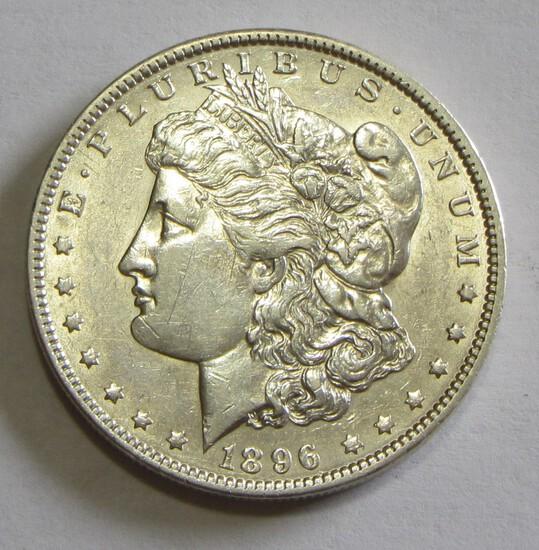 $1 1896 O MORGAN SILVER DOLLAR