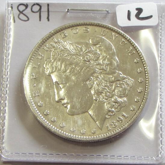 $1 1891 MORGAN