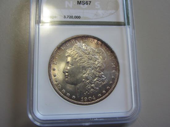 $1 1904-O HIGH GRADE MORGAN LOW MINTAGE