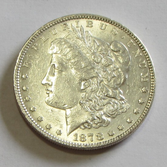 $1 1878 MORGAN SILVER DOLLAR