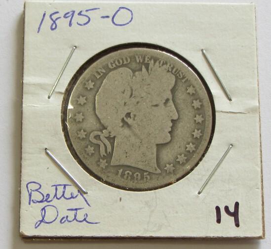$1 1895-O BARBER HALF