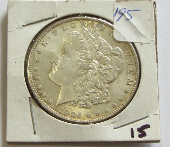 BU $1 1904-O MORGAN