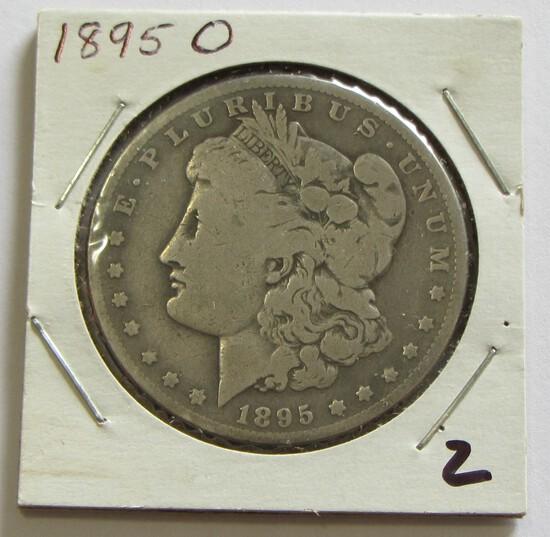 BETTER DATE $1 1895-O MORGAN SILVER DOLLAR