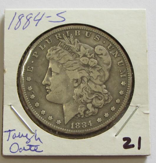 $1 1884-S MORGAN
