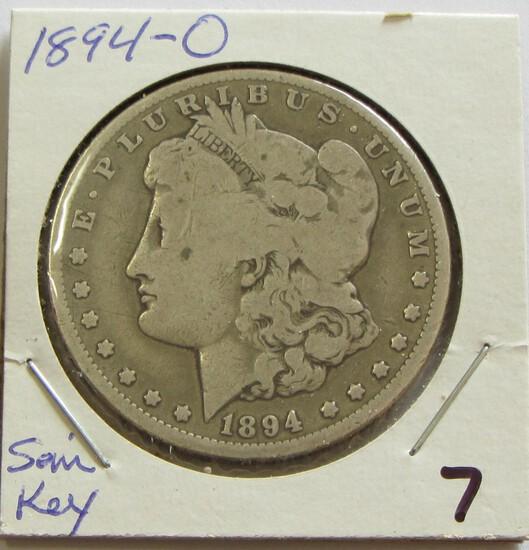 $1 1894-O MORGAN