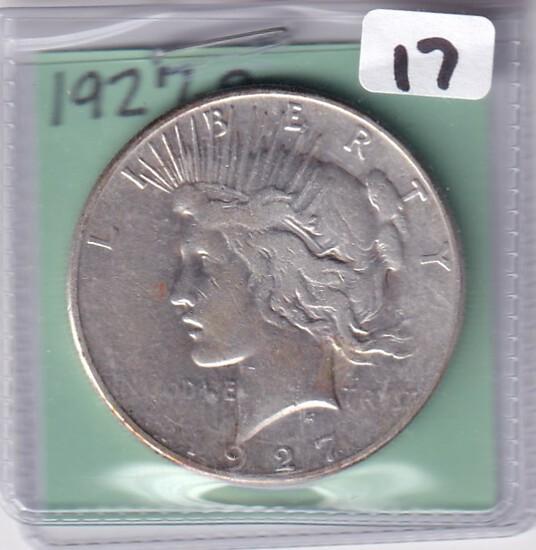 $1 1927-S PEACE