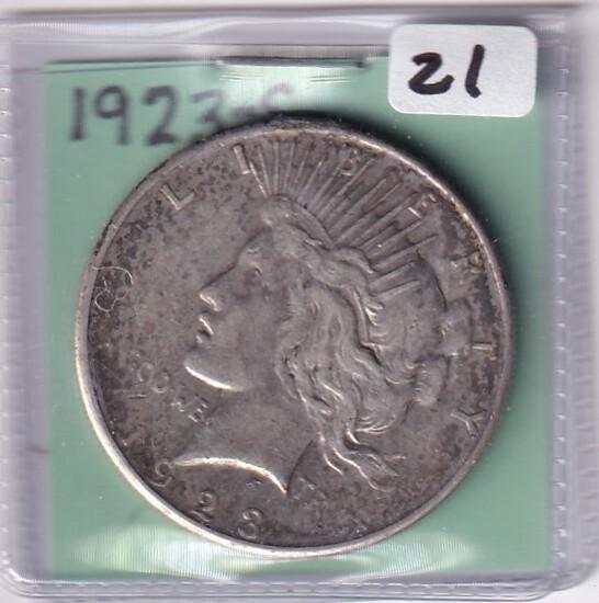 1923-S $1 PEACE