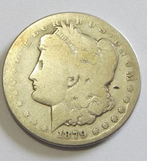 $1 1879-CC CARSON CITY MORGAN