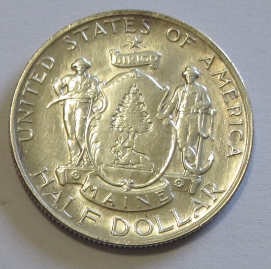 MAINE 1920 SILVER COMMEMORATIVE HALF