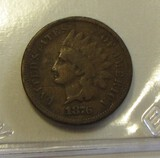 1876 INDIAN HEAD CENT BETTER DATE