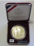 1995 Silver Proof Dollar Atlanta Olympic Games W/COA