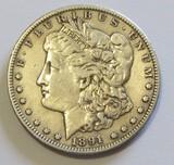$1 1891-CC CARSON CITY MORGAN