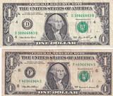 Lot of 2 - 1999 & 2006 $1 Radar Notes
