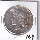 $1 1926 PEACE SILVER DOLLAR