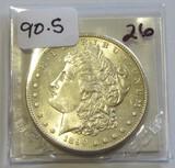 BU 1890-S $1 MORGAN