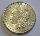 BU $1 1884 MORGAN