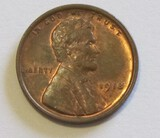 1918 WHEAT CENT HINTS OF RED