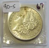 $1 MORGAN 1890-S