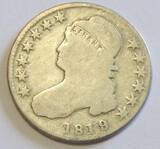 1819 BUST HALF