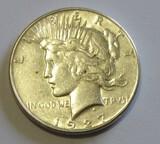 $1 1927-S PEACE DOLLAR