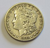 $1 1882-CC CARSON CITY MORGAN