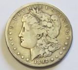 $1 1892-CC CARSON CITY MORGAN