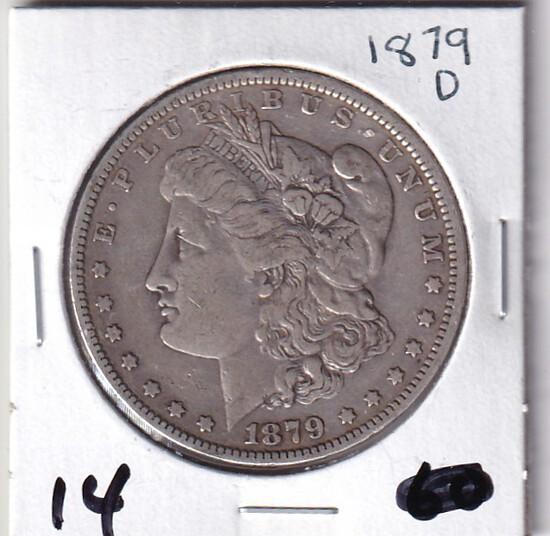 $1 1879-D MORGAN