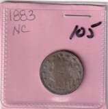 1883 NICKEL NC