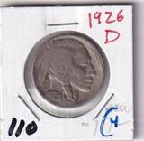 1926-D NICKEL