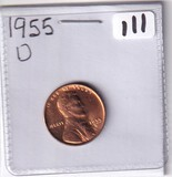 1955-D GEM WHEAT CENT