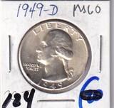 1949-D QUARTER