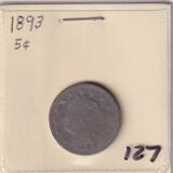 1893 NICKEL
