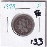 1873 3 CENT PIECE