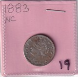 1883 NC NICKEL
