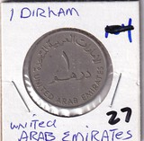 1 DIRHAM UNITED EMIRATES