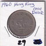 1960 HONG KONG $1