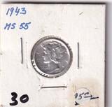 1943 DIME