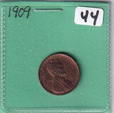 1909 WHEAT CENT