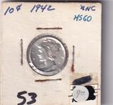 1942 DIME